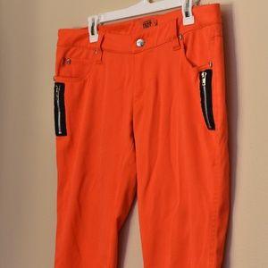 Daang Goodman Neon Orange Tripp Pants - SIZE 13